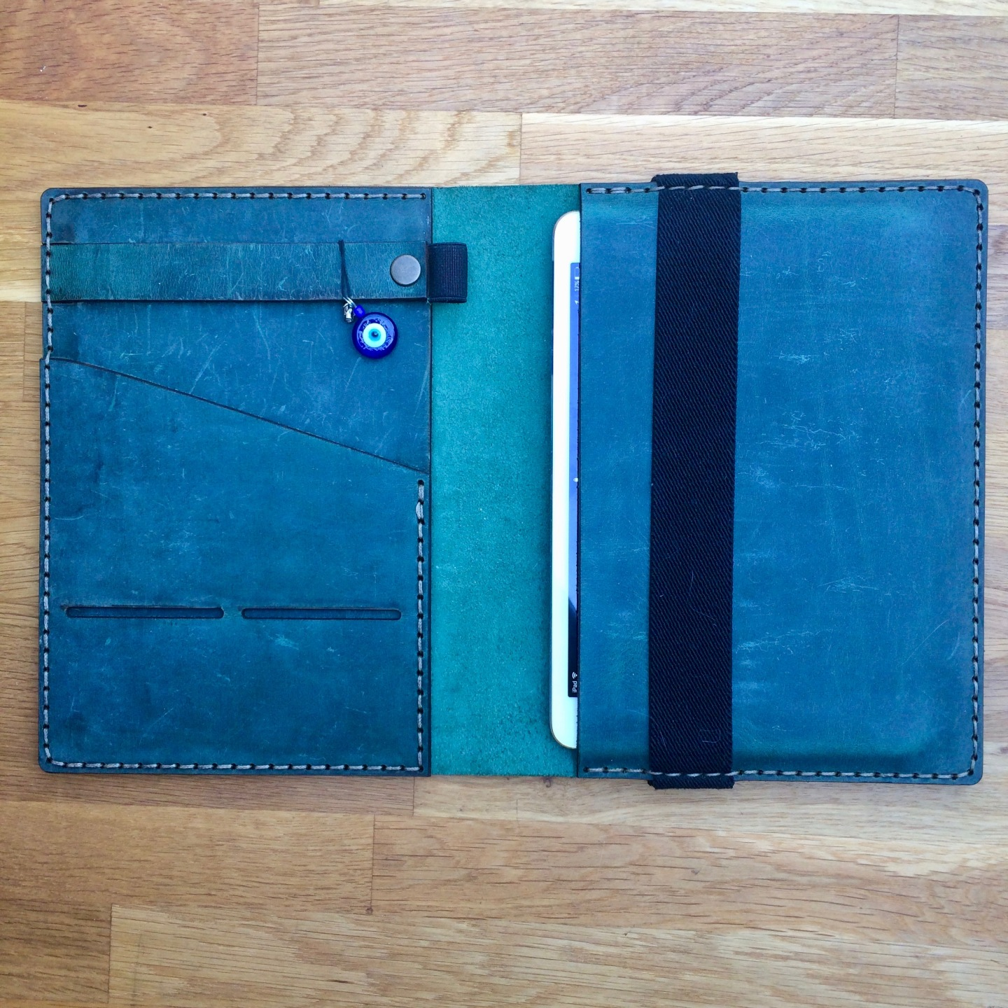 Cover with iPad
